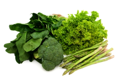 Raw food recipes containing dark green vegetables can really