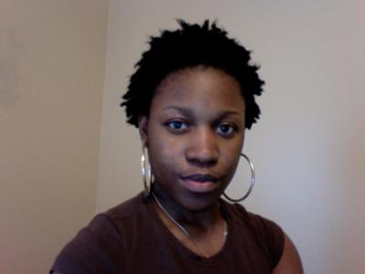 You can't really see the front braid, but it's there lol.